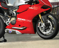 Ducati Corse SIDE PANEL STICKER Set Stickers Decals 1199 1299 Panigale S /24