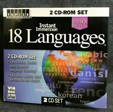 18 Languages (Instant Immersion) Multimedia CD-ROM Set(2) - 2003