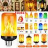 E14 E27 LED Flamme Effet Feu Ampoule Vacillant Flamme Ampoule Lampe Décor GB