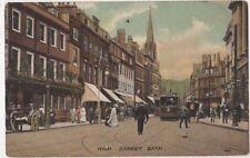 High Street Bath, Tram Postcard B615