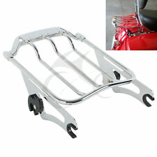 Chrome Air Wing Two Up 2up Luggage Rack for Harley Davidson Road King FLHR 09-17