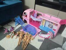 Conjunto de Juego Barbie Dream Camper Van Con Piscina