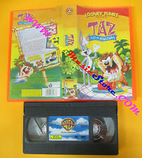 VHS film TAZ ALLA RISCOSSA animazione 2000 LOONEY TUNES piv 18436 (F124) no dvd