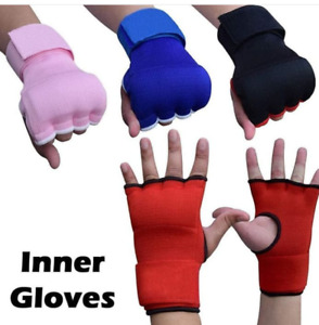 MMA Boxing Inner Gloves / knickle guard Hand Wraps Bandages  MuayThai Kickboxing