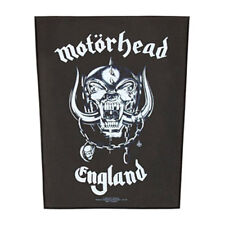 Motorhead Men's Back Patch Black Rockabilia