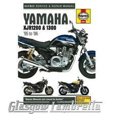 Haynes Service Manual 3981 YAMAHA XJR1200 & XJR1300 (1995-2006)  + stickers