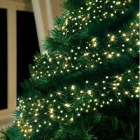 480 LED White & Bright Warm White Mixed String Fairy Lights Christmas Indoor