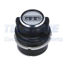 1 pcs F2871 Manopola di precisione con il contatore Diam.asse 6,35mm TELSTORE