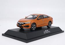 1/43 Dongfeng Honda manufacturer alloy car model 10 generations HONDA Civic