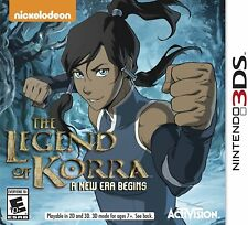 Legend of Korra: A New Era Begins (Nintendo 3DS, 2014) Brand New Factory Sealed
