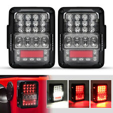 Newest Osram EMC LED Tail Lights Rear Brake Reverse Lamp for Jeep Wrangler JK CJ