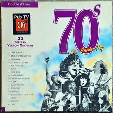 33t 70's Les Années Pop - Deep Purple, Springsteen, Santana, Cohen… (LP)