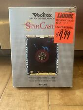 Star Castle -Vectrex Complete Game with Overlay Insert Box Manual!