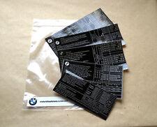 BMW pneumatici tyres reifen sticker adesivi R45 R65 R80 R100 R90S K75 K100 K1100