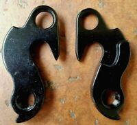 Bicycle Derailleur Hanger 96 Black qty 1 New Dropout NOS without hardware #96