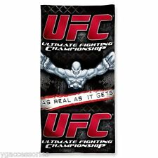 "UFC Ultimate Fighting Championship 30"" X 60"" Cotton Pool Beach Dorm Towel NEW!"