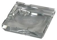 PASSATORE Cigarrenascher Kristallglas 4 Ablagen H 3.5 x B 15 x T 15 cm NEU