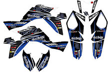 Suzuki LTZ 400 09-12 graphic kit ltz400 2009 to 2012 decal stuckers atv graphics