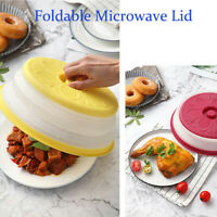 Collapsible Microwave Plate Cover Colander Strainer For Fruit Vegetables