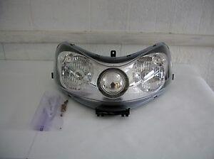 Polaris Dragon headlight & bulbs 2007 700 Beautiful! No damage! No cracks!