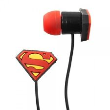 Superman Ear Buds Ear Head Phones NEW