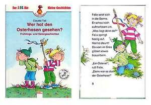 Wer hat den Osterhasen gesehen? - Kinderbuch - Neu