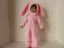 """Adorable Bunny Outfit for American Girl or any 18"""" doll"""