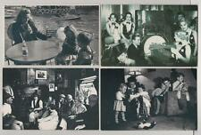Lot of 4 Nostalgia postcards Country pub Douglas Fairbanks Babyminders Boat Lake