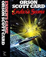 Ender's Game by Orson Scott Card First UK Hardcover Century 1985