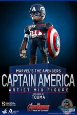 Avengers Age of Ultron Series 1 Captain America Artist Mix Hot Toys