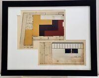 Henri DELACROIX Original 1935 ART DECO ARCHITECTURE POCHOIR Interior Design RARE