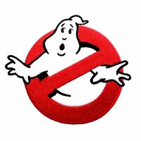"""Ghostbusters Movies No Ghost Logo Embroidered Iron//Sew On Patch 3.8/""""X3.5/"""""""