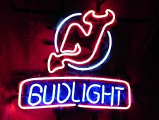"New Bud Light New Jersey Devils Beer Neon Sign 19""x15"""