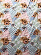 Sue Hall Snatch The Dog Fabric Curtain 1996
