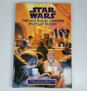 Star Wars The Mos Eisley Cantina Pop-Up Book Hardcover, Plays Sounds & Music