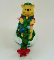 Disney Winnie the Pooh & Piglet Winter Wonderland Christmas Stocking Holder 1996