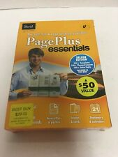 Page Plus Essentials By Serif Deluxe Edition