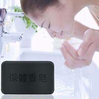 Handgefertigte 1 Stück Holzkohle Reinigung Seife Bar Feuchtigkeit Haut Seife