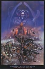 CHRIS ACHILLEOS ~ HOST OF CHAOS 24x36 FANTASY ART POSTER Knights