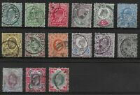 KEVII. One of Each Value & Colour To 1s. Selected Very Fine Used. Ref:0231