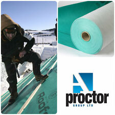 Proctor Roofshield Breather Membrane / BBA Roofing Felt 1m x 50m - FREE Delivery