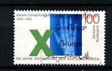 Alemania 1995 Sg # 2625 Wilhem Rontgen los rayos X utilizados #a 24427