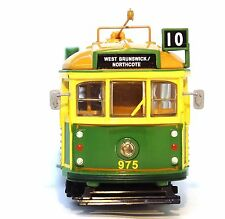 1:76 SCALE MELBOURNE W6 CLASS TRAM - THE MET GREEN RATTLER NO. 975