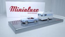 RENAULT FLORIDE ATTELAGE CARAVANE MINIALUXE REF 26_3SE TOYS CAR EN METAL BOITE