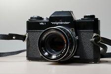 Voigtlander vsl 1 TM, M42 mount with Voigtlander color ultron 50mm f1,8