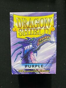 Dragon Shield Purple 100 ct. Protective Sleeves New Sealed