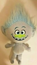 "DREAMWORKS TROLLS MOVIE PLUSH DOLL BLUE GUY DIAMOND 15"" HASBRO 2015"