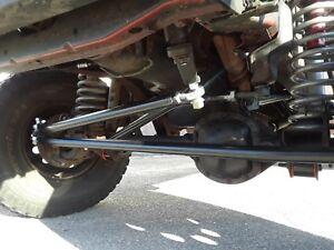 JEEP XJ MJ ZJ TJ LJ Crossover 1 TON steering kit w/ steering stabilizer bracket