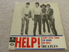 The Beatles Help 45 RPM EP Sweden Geos 234 Sleeve Only