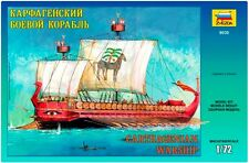 ZVEZDA 9030 - Carthagenian Warship / Scale Model Kit 1/72